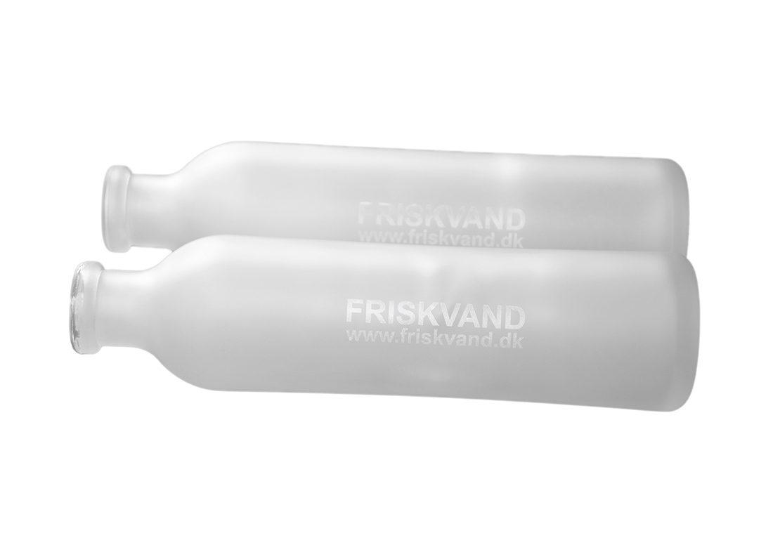 Glas flasker med gravering