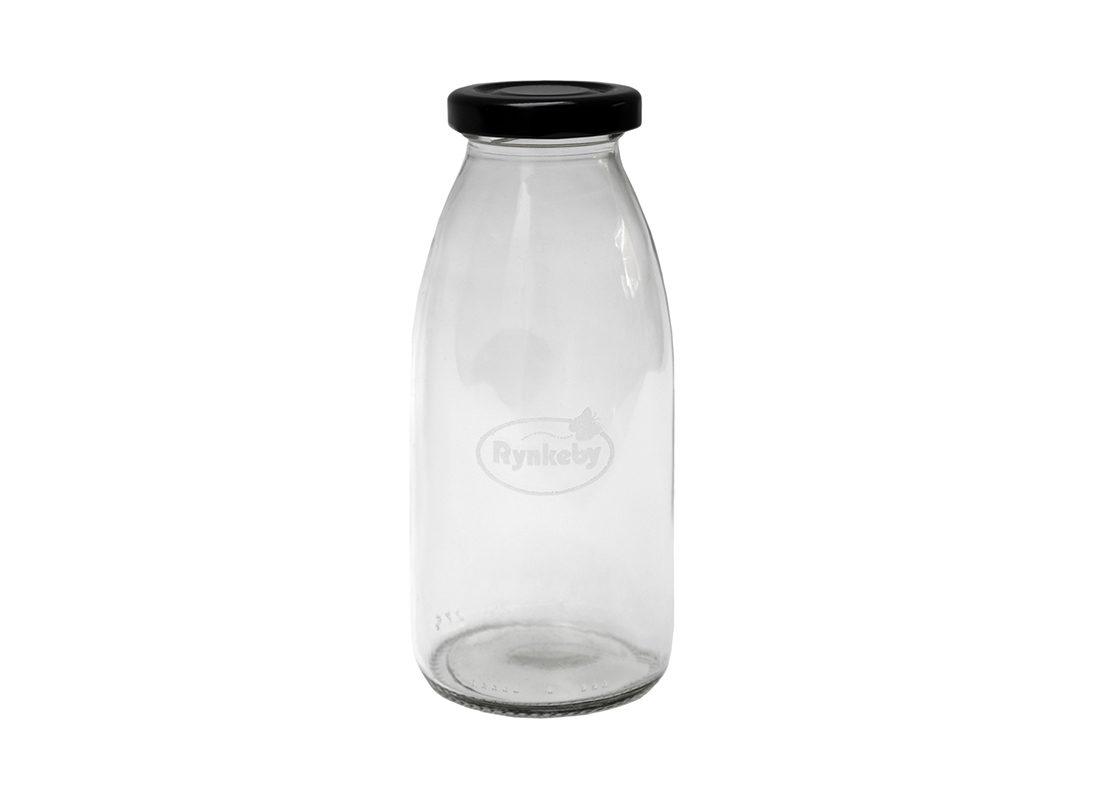 Glas gravering i flaske
