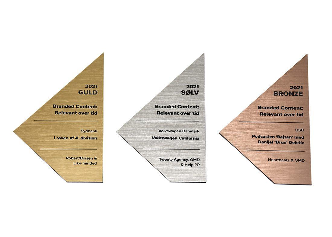 laserskårne awards i akryl plast